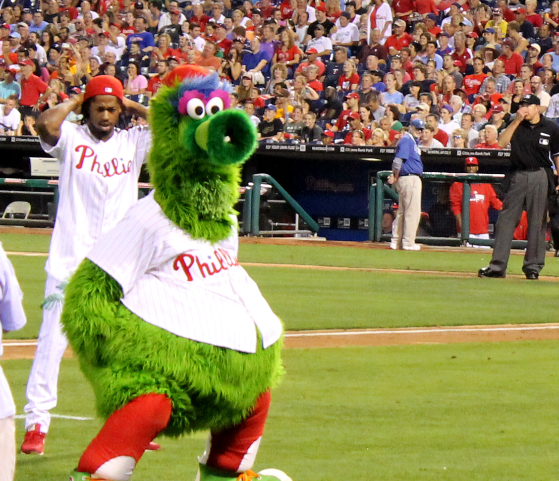 Philly Phanatic Friends The Philly Phanatic