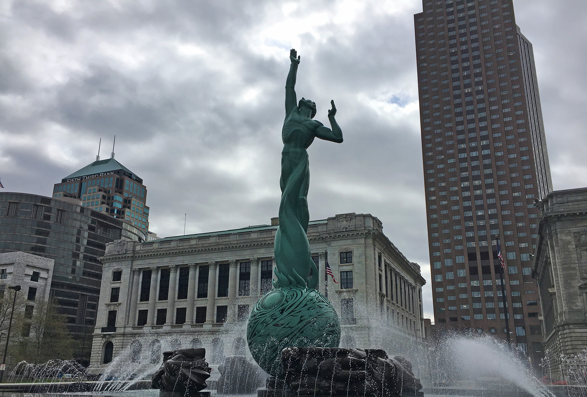 The Fountain of Eternal Life, Cleveland, OH