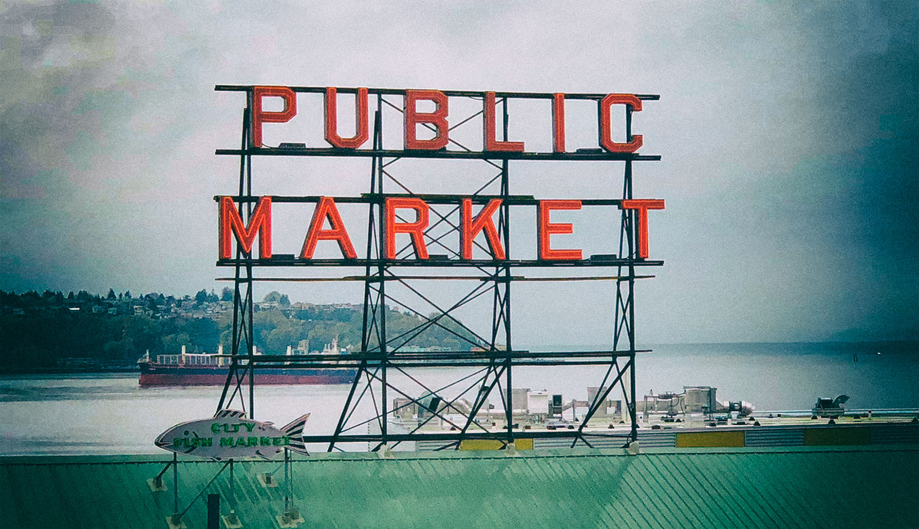 Pike Place Public Market, Seattle, WA
